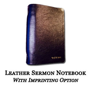 Leather Sermon Notebooks | Randall Creel
